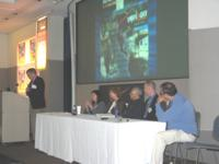 Picture of discussion panel