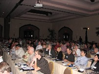Attendees gain insight into the days presentations